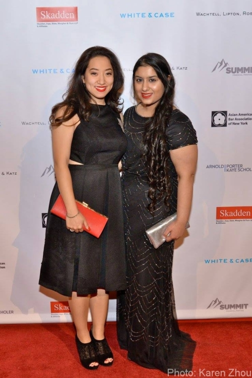 2017 Annual Dinner - Nora and Manleen 2016 DHL Scholars - KZ